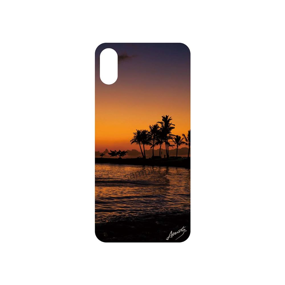 【Waikiki Sunset Color】by 小野澤篤人/AMAZONICA iPhoneケース